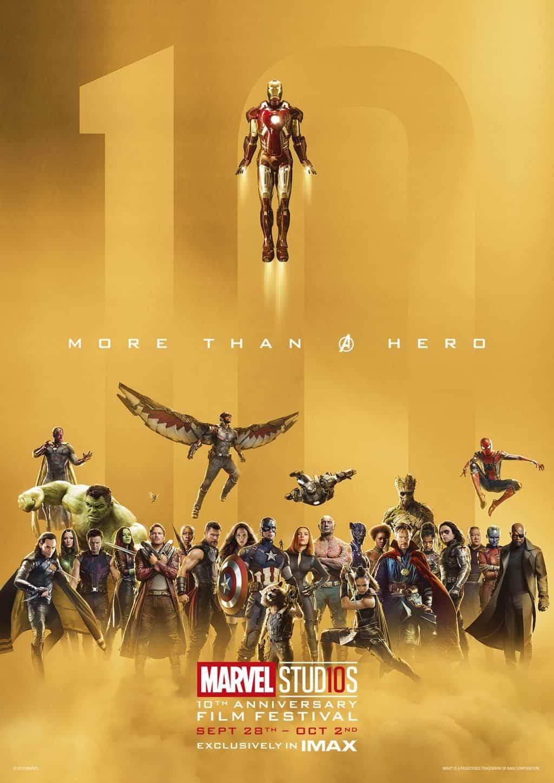 Marvel Studios 10th Anniversary Film Festival In IMAX
