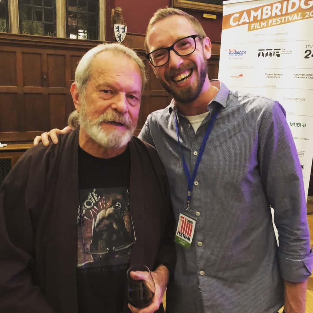 I met the great man himself!