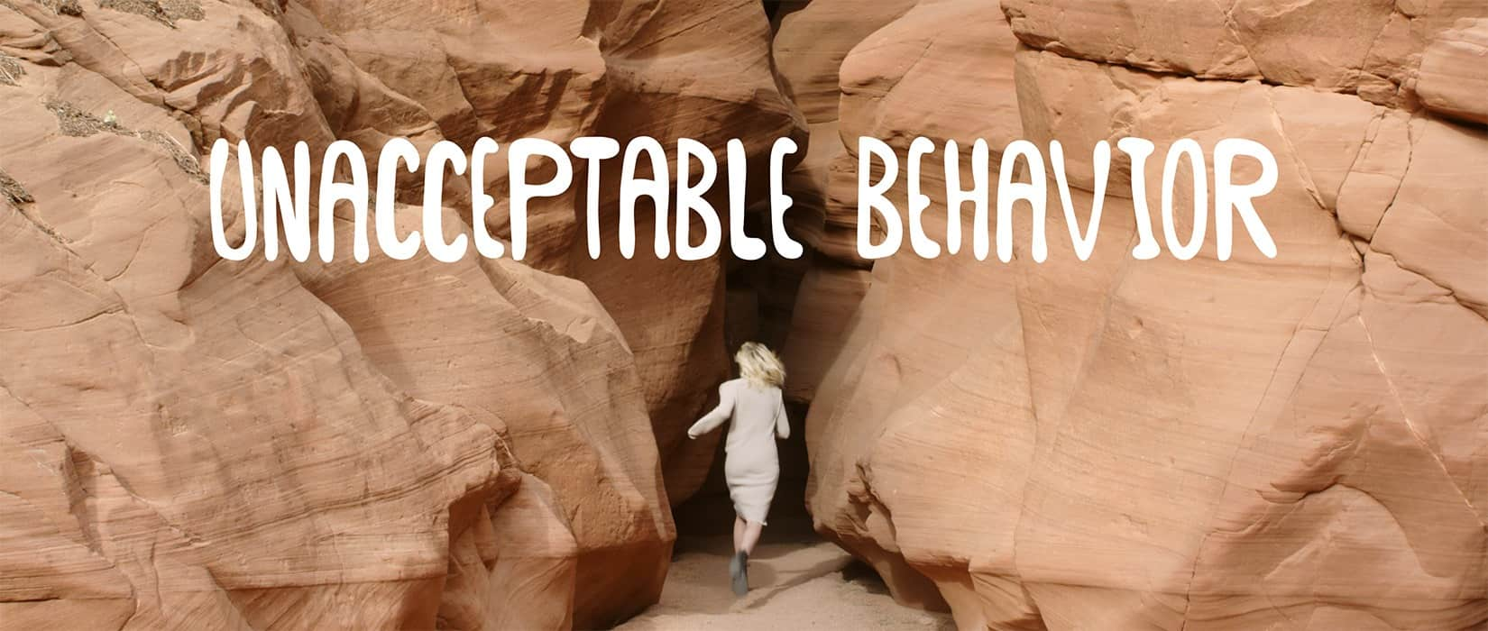 Unacceptable Behaviour delves into the balance between childhood and adulthood, the broken promises of youth as well as the loss of innocence and freedom brought on by age and responsibility.