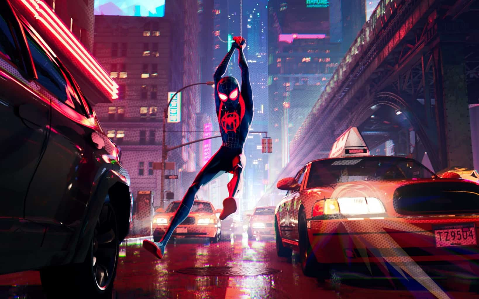 Spiderman: Into The Spider-Verse Swings To Number 1