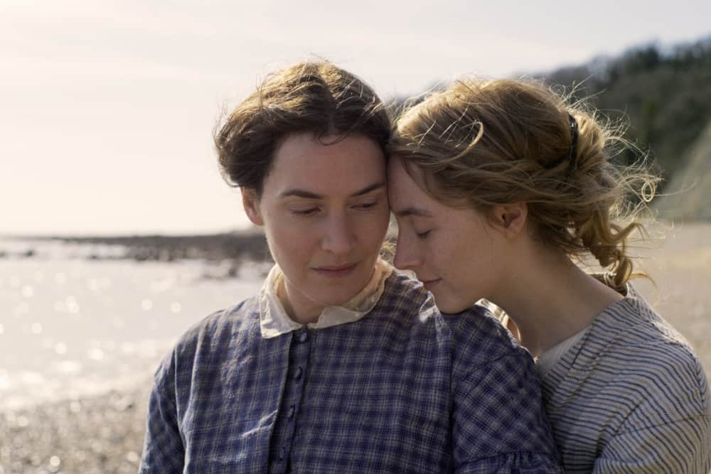 First Look: Kate Winslet, Saoirse Ronan In Francis Lee's Ammonite