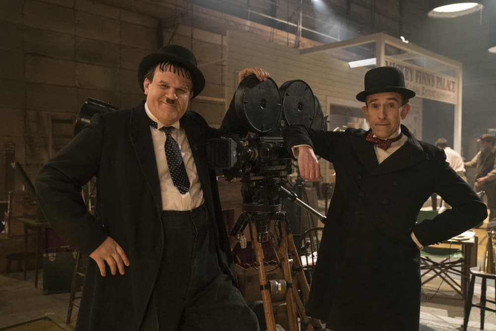 Stan & Ollie Take A Bow At The Top