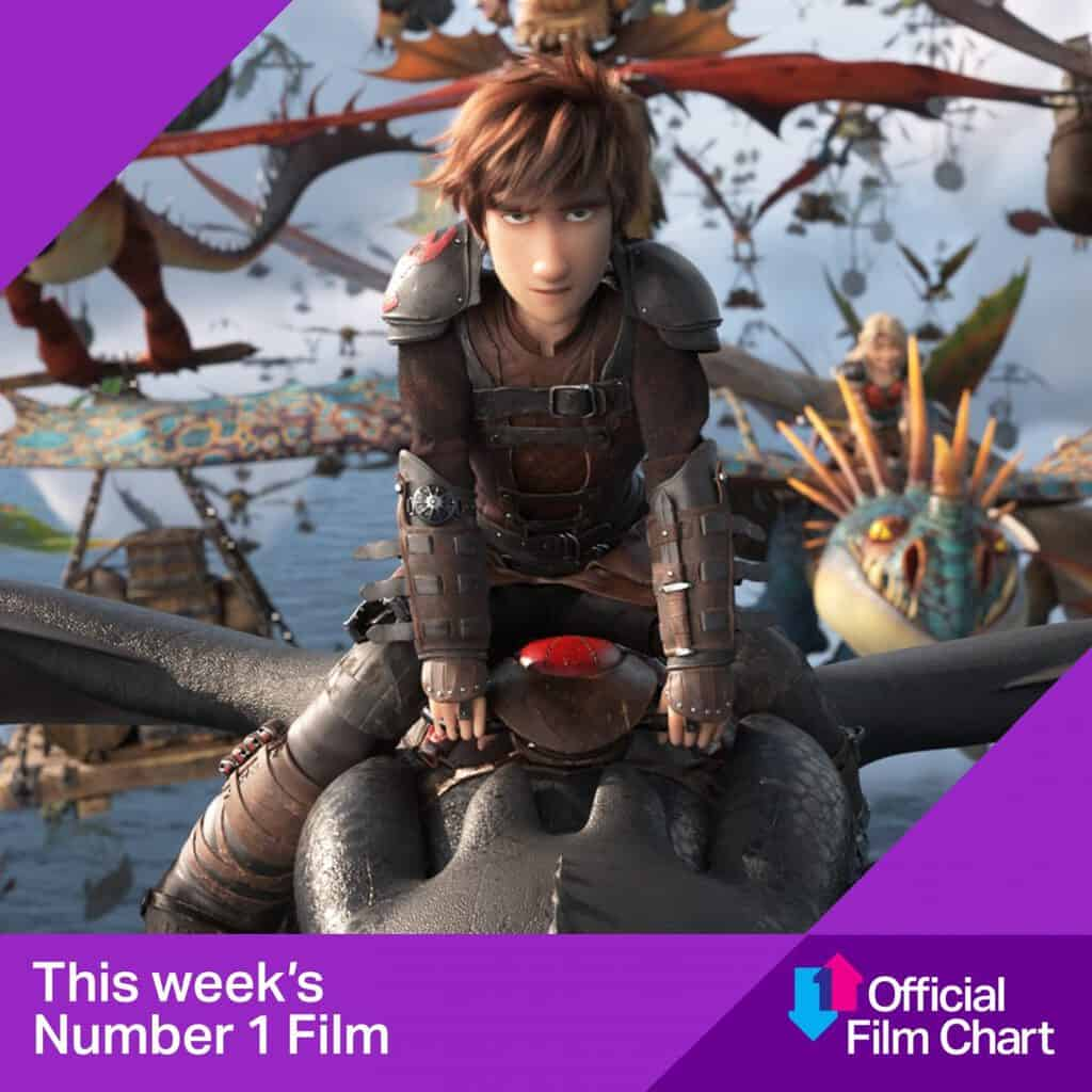 How To Train Your Dragon: The Hidden World Swoops Back To Number 1