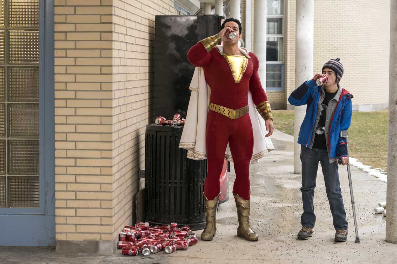 Shazam! zaps into the Official Film Chart top spot
