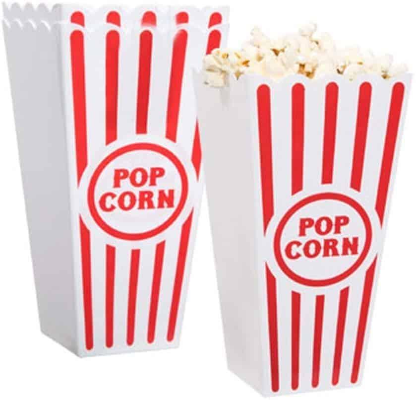 Plastic Popcorn Containers - £7
