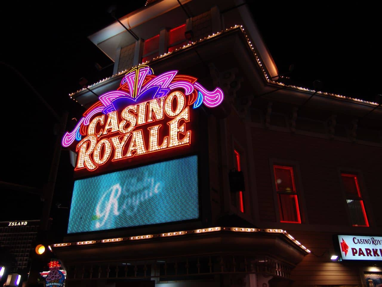 The Casino Royale in Las Vegas