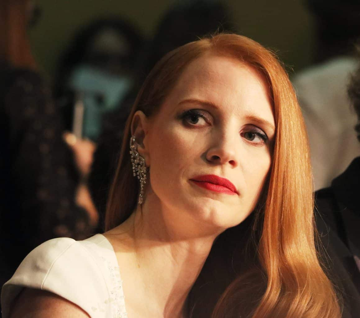 Molly Bloom is played by Jessica Chastain