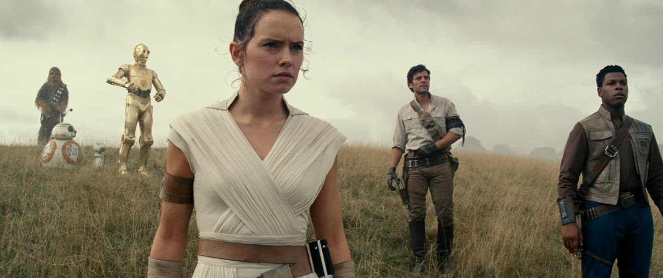 It's a third week at the top for Star Wars: The Rise of Skywalker