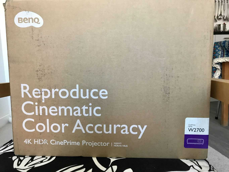 BenQ W2700 4K Ultra HD DLP HDR Projecto