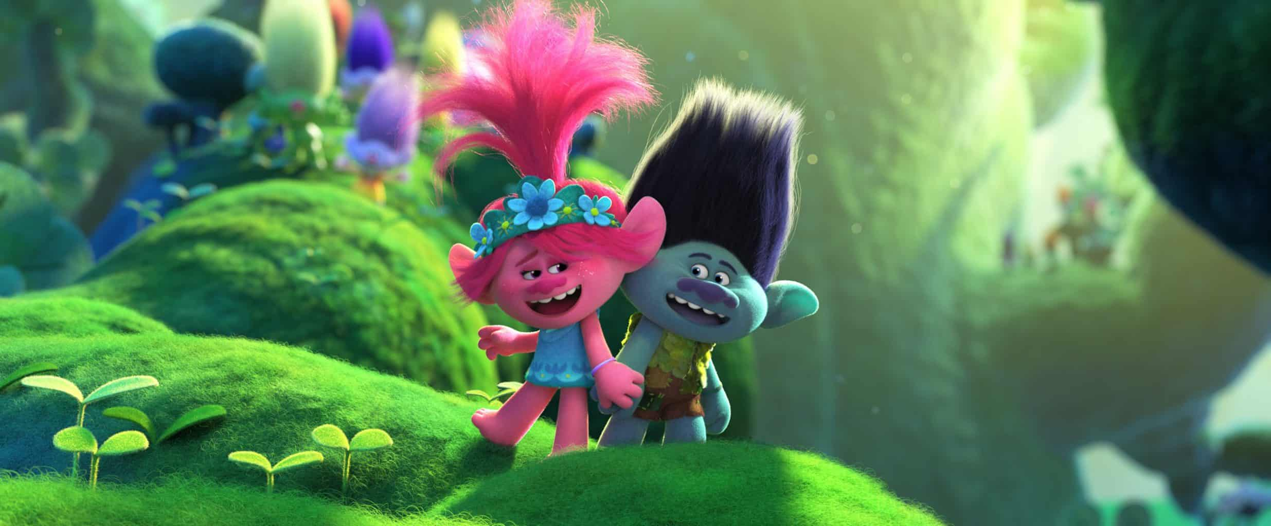 Trolls World Tour debuts at Number 1 on the Official Film Chart