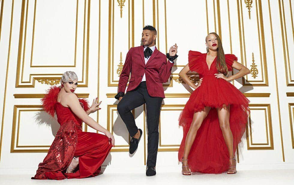 Fans of Canada's Drag Race are of the opinion that judges Brooke Lynn Hytes, Jeffrey Bowyer-Chapman and Stacey McKenzie are being unfairly harsh on the competitors. Photo courtesy Bell Media.