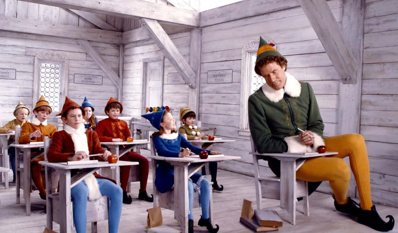 Elf climbs to the top of the Official Film Chart for the first time