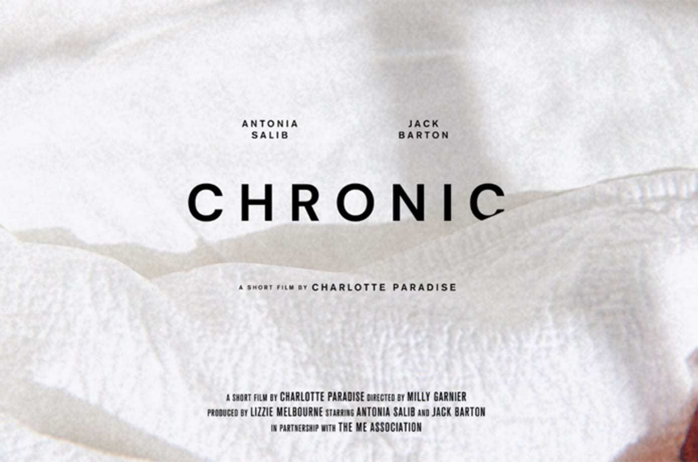 Chronic: Writer Charlotte Paradise & Director Milly Garnier Interview