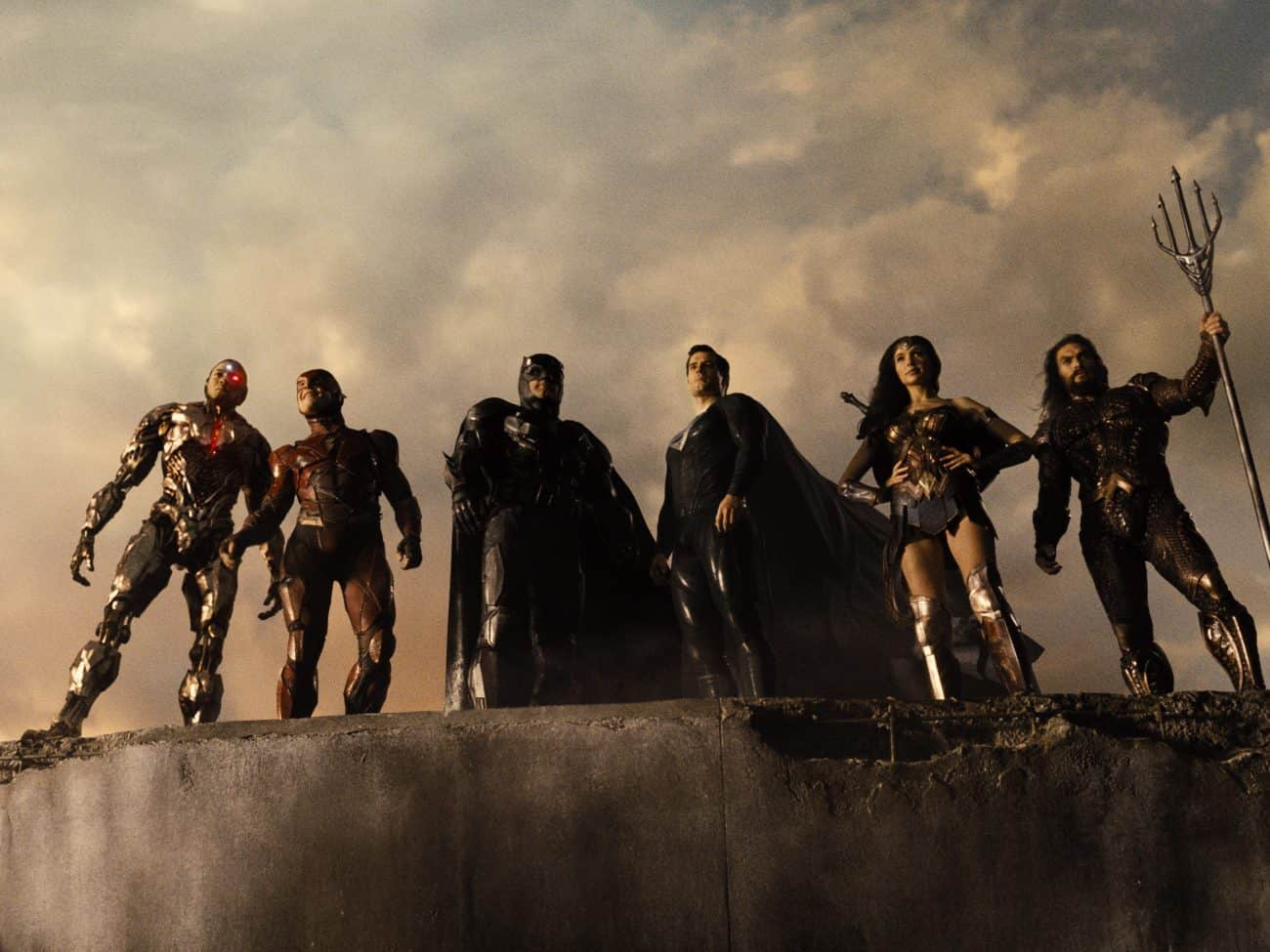 Zack Snyder's Justice League debuts at Number 1 on the Official Film Chart