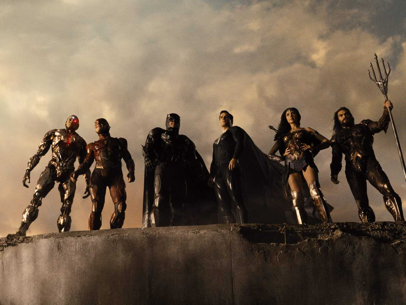 Zack Snyder's Justice League Debuts At Number 1