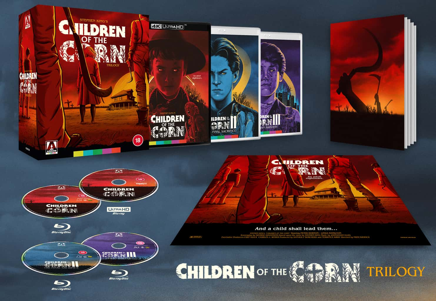 Children of the Corn Trilogy is released on Limited Edition Blu-ray Boxset + Children of the Corn on UHD on 27th September