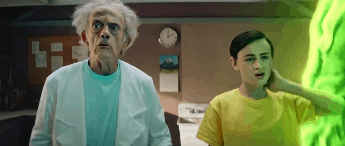 Rick And Morty: Live Action Teaser - Trailer Talk