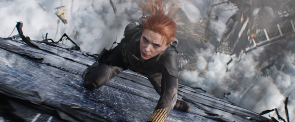 Black Widow Enters At Number 1 On The Official Film Chart