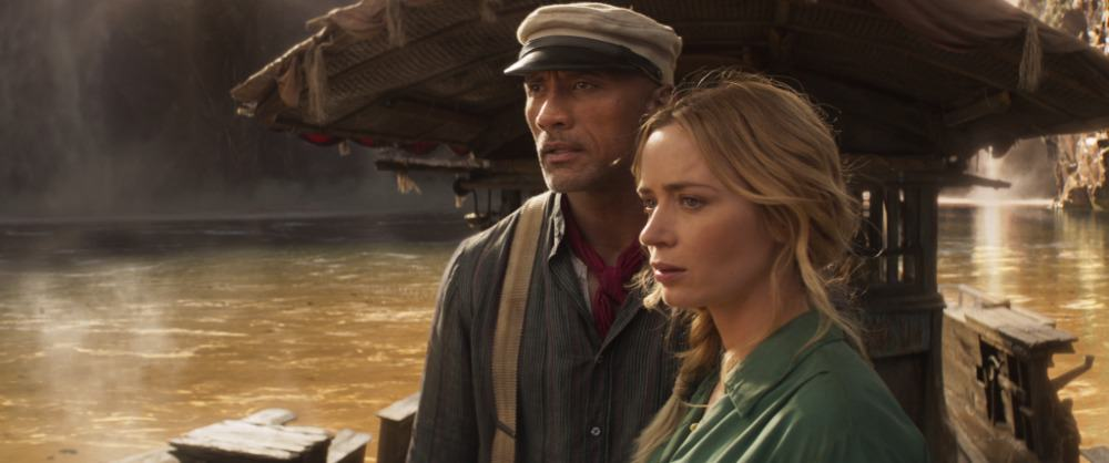 Jungle Cruise sails straight to Number 1 on the Official Film Chart